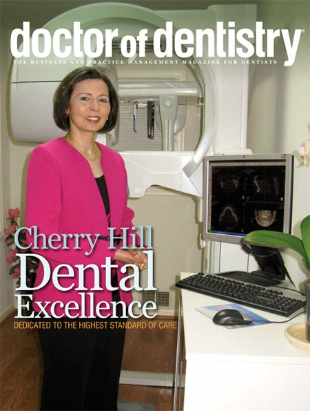Doctor of Dentistry magazine front page
